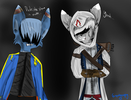 .:Assassin's Cry:. by Ginathepuppy