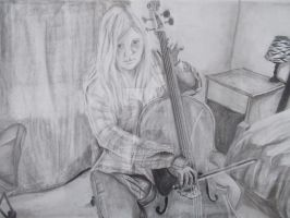 Mah cello n me o.O by samXwow
