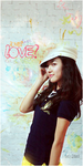 Love with Kim So Eun by xxmoshi-moshi