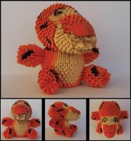 Tigger - Modular Origami by prosaix