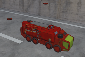 M-Tec  Te iden Multi Purpose Truck Ameise Rescue by NikitaTarsov