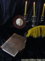 Book of Shadows Hand Carved by CelticGold