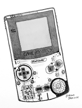 Gameboy Color by sylvelora
