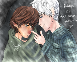 Rudolph the Red-Nosed Hiccup by sjsaberfan