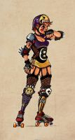 Charm City Roller Girl Concept by MellisMade