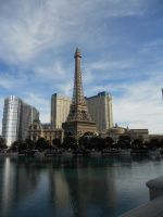 The Las Vegas Eiffel Tower by SunlightRyu