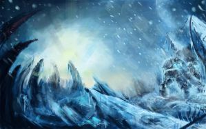 starcraft marines on ice by VitoSs