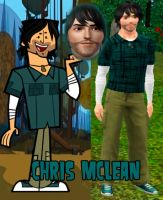 Chris McLean - The Sims 3 by 666-Lucemon-666