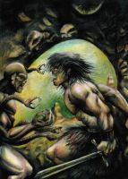 Conan vs the Snake King by oh1life2live