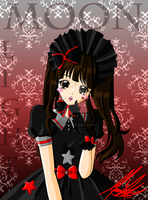 Red-Black Lolita by MoonlightKagome