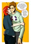 In a relationship_Kissing by applepie1989