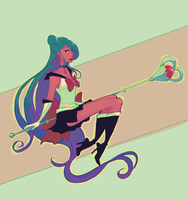 sailor Pluto by ChocolaPeanut