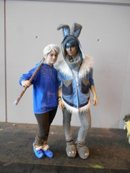 EpicCon Frankfurt 2016 cosplay: Jack and Bunny by Lalottered