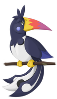 Evolution of Chatot 1 by Twime777