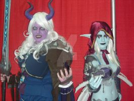 WoW Characters 3 AX 2011 by MidnightLiger0