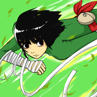 Rock Lee by LemonOrchid