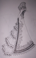 :Wedding-Prom Dress Design 1: by Rinikins