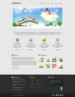 Fadelicious Free Homepage PSD by elemis