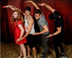 TVD Con Trio Roerig, McQueen, and Trevino by MermaidGirlForever