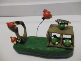 Angry Birds Statue Thingy by Lolly-pop-girl732