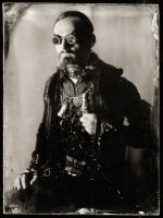 A real ambrotype of myself by ChanceZero