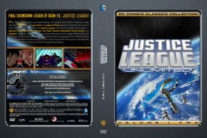 Justice League Unlimited Volume 2 Custom DVD Cover by SUPERMAN3D