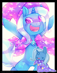 TRIXIE by cappydarn