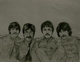 The Beatles by Tearstains