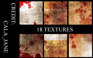 100X100 TEXTURES by calajane