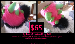 Spikey Monster-Dog Tail SOLD by Swagliad