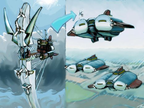 MarchArt 04 - Monoplane and Aeroplanes by Destro7000
