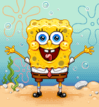 Spongebob by Paxjah