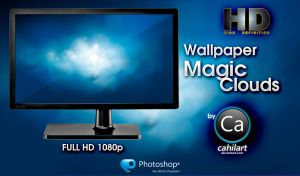 Magic Clouds Wallpaper by CaHilART
