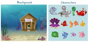 Under the Sea Game Project by madmoiselleclau