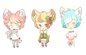 (CLOSED) PAYPAL ADOPTS - CAT EAR CUTIES by BottleIt