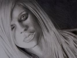 Avril lavigne Drawing by Rollingboxes
