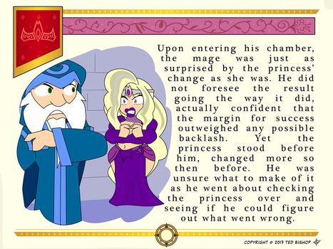 Another Princess Story - Surprised Mage by Dragon-FangX