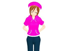MMD Newcomer - Meg Griffin by Xeno-Fan-Jinusa