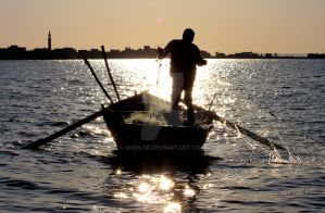 Fishing in Egypt by WorldII