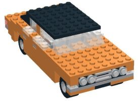 Life on Mars Ford Cortina Lego by YanamationPictures