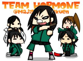TEAM HORMONE by mintpotato