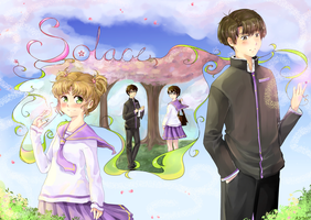 Solace: Chapter 1 Title Page by AmikaMangaka