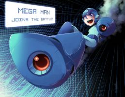 SMASH BROS MEGAMAN by suzuran