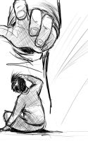 Hand Scribble by DarthFeatherpants