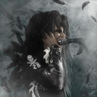 Blackie Lawless by Ameli-Lawless