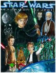 Star Wars Episode VI Return of the Jedi by simpsonsquire