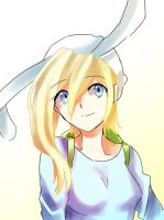 Fionna (Adventure Time with Fionna and Cake) by AnimeandCartoonFan