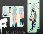 Sapphirecds by joannime07elric