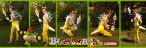 Bowser Jr Cosplay by Labyrinth-keeper