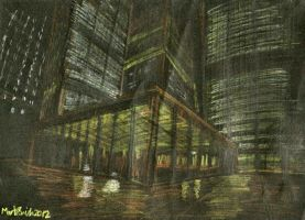 Toronto-Dominion Centre by FreyFox